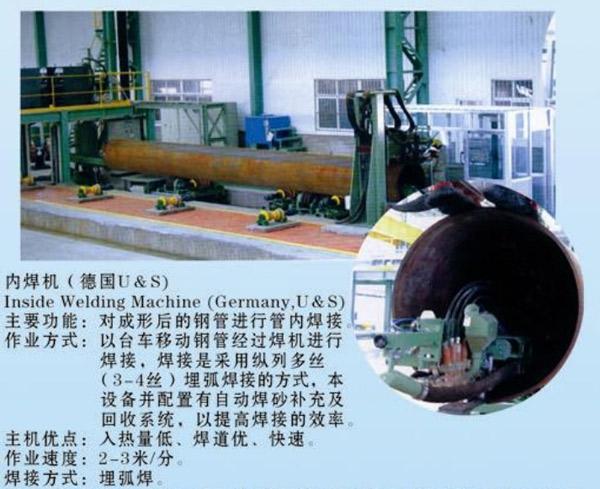 钢管内焊机
